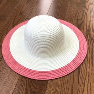 Janie and Jack baby girl sun hat.